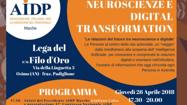 Neuroscienze  e Digital Transformation