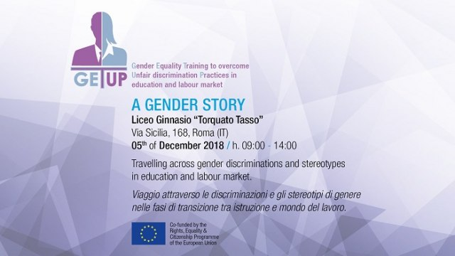 Final_Conference 3/3_genderpaygap_wasteoftalent_A GENDER STORY @Roma_liceo Torquato Tasso
